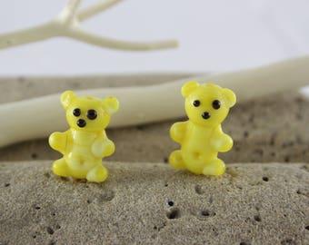Animal glass Lampwork beads