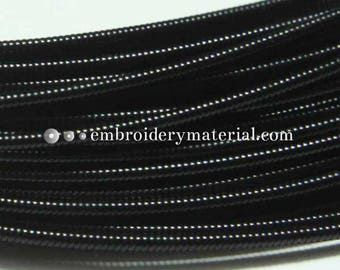 10Mtr, 1MM Jaseron French Stiff wire in Black Color-EMB1443