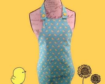 Kids baby chick apron
