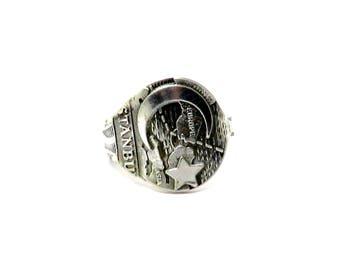 istanbul ring, moon ring, star ring, silver ring, spoon ring, turkey ring, turkish ring