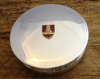 Royal Artillery Trinket Jewellery Pewter Box Artillery Gift ME04