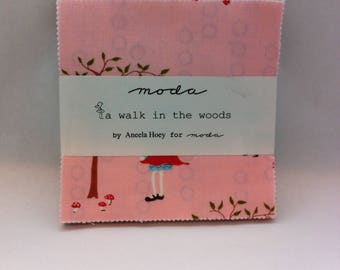 A Walk in the Woods  by Aneela Hoey for Moda,  OOP Charm Pack