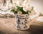 Mothers Day Gift, Gifts for her, Gift for mom, Gardening gift, Watering can, Personalized watering can, This Grandma belongs to watering can