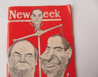 News Week Magazine  November  4   1968