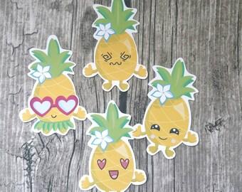 Pineapple Die Cuts l Kawaii Die Cuts   Girl Die Cuts   Cute Die Cut   Camera   Planner Die Cuts   Island  TN   Travelers Notebook
