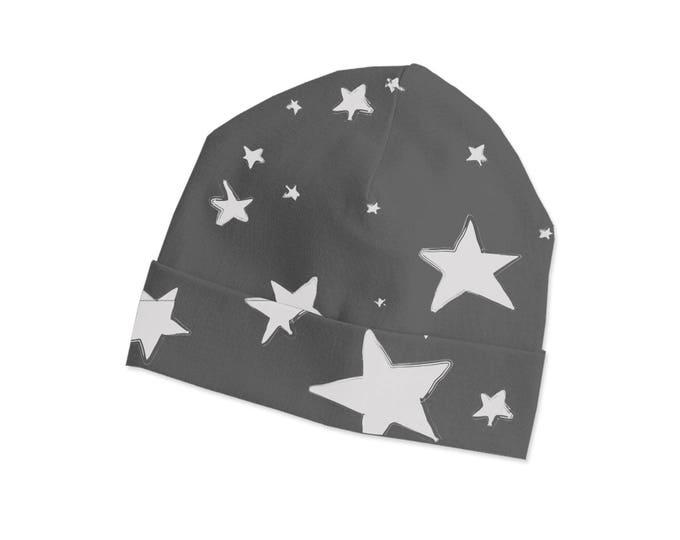 Newborn Baby Hat, Newborn Beanie, Unisex Baby Hat, Newborn Boy Beanie Cape, Baby Girl Beanie, Baby Shower Gift, Stars TesaBabe CP630SR000000