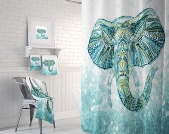 Elephant Curtains   Etsy
