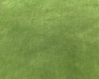 2 yards slinky acetate fabric Avocado green colo