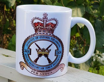 Military Squadron Mug, can be personalised