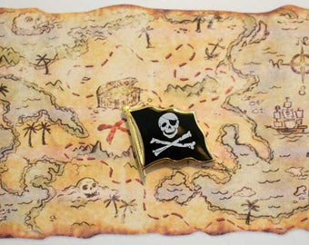 Pirate Flag Pin / Tie Tac / Lapel Pin