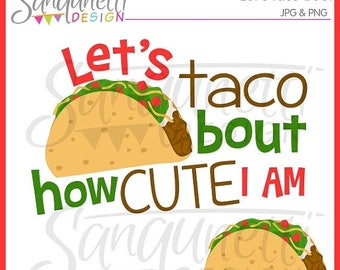 50% OFF Taco clipart, food clipart, cute clipart, mexican clipart, instant download