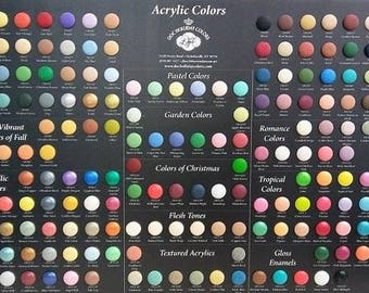 Doc Holliday Acrylic Paint 2nd List - Acrylic Paint - 2 Ounce Bottle Acrylic Paint - Craft Paint - Acrylic Craft Paint - High Quality Paint