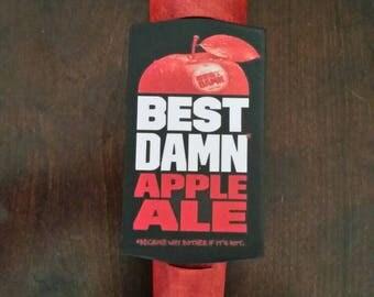 Best Damn Apple Beer tap handle