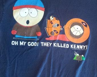 SOUTH PARK t shirt 1999