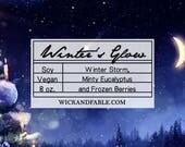 Winter's Glow - Limited Edition Seasonal Scented Soy Candle