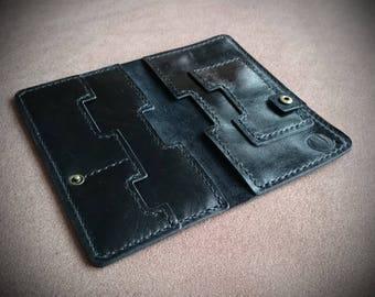 Wallet phone case, Smartphone case, iPhone 6s, iPhone 7, leather phone case, vintage case, mobile case, mobile leather case, mobile clutch