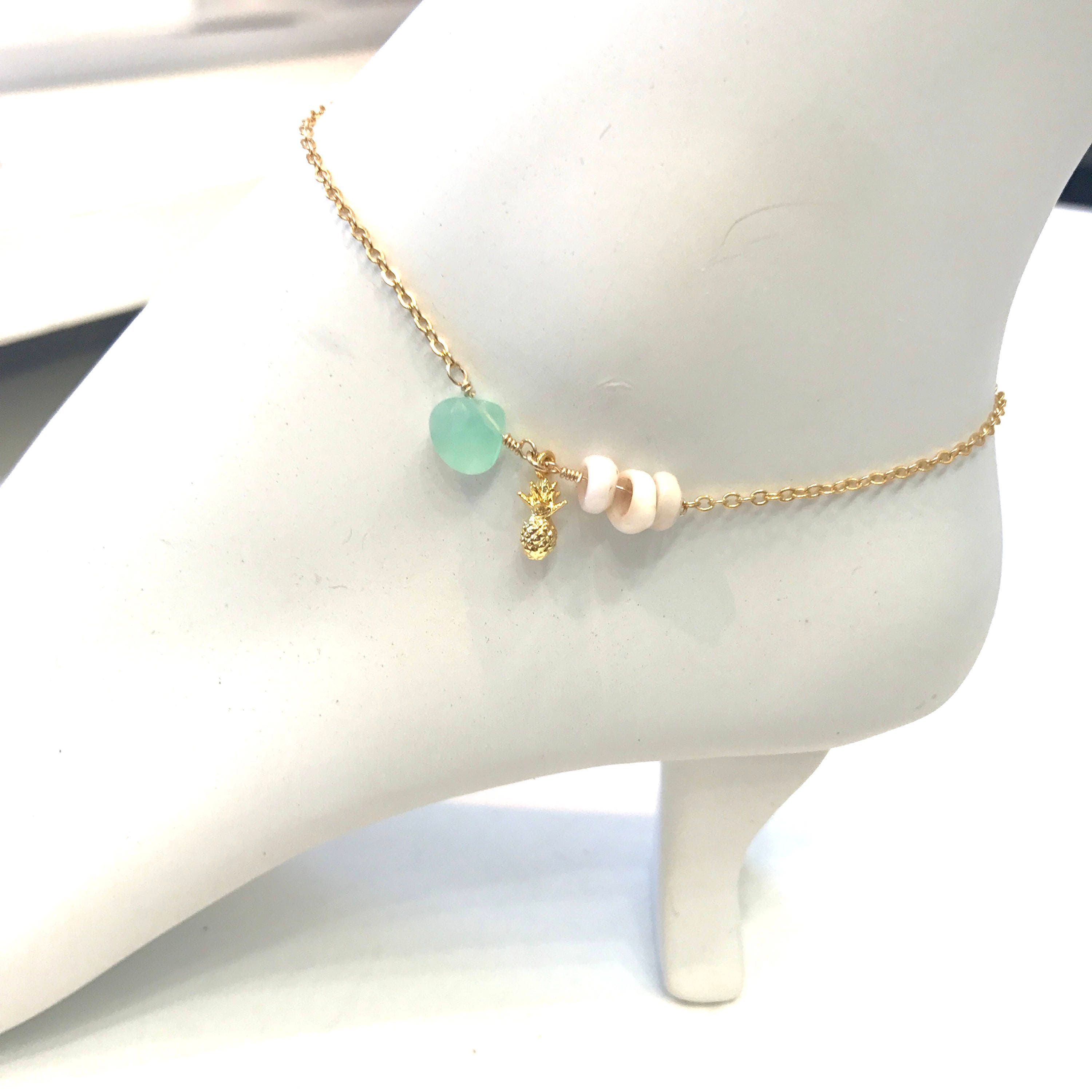 anklet row poppy blue products sky aquamarine popskyaqm bracelet