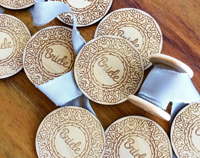 Featured listing image: Bride Badge - single badge