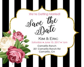 Save the Date - Digital File
