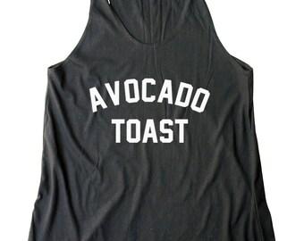 Avocado Toast Shirt Avocado Top Avocado Shirt Quote Tank Slogan Tee Food Vegan Shirt Women Shirt Racerback Tank Top Women Tank Top Teen Tank