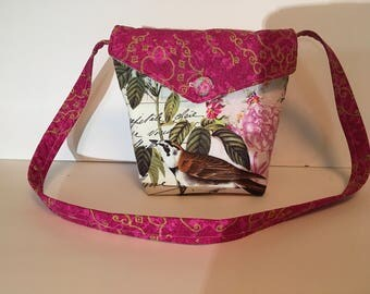 Reversible Purse/Messenger Bag with Pockets