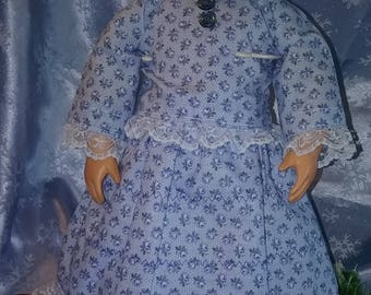 "18"" Doll Clothes Laura Ingalls Little House on the Prairie"