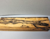 Black & White Ebony Exotic Wood Highly figured lumber 14.5 x 3.5 x 2.5 Supply pen, knife blanks pepper mill  turning carving wood