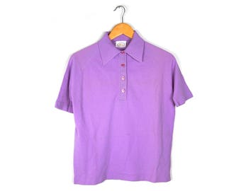 Purple Pop Top by Russ