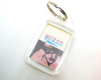 Vintage 80s Duran Duran - Film Strip Design Keychain