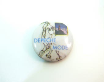 Vintage Early 80s Depeche Mode - Everything Counts Single (1983) Pin / Button / Badge