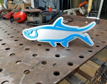 Tarpon Trailer Hitch Cover, Truck Accessories, Car Accessories, Steel fish