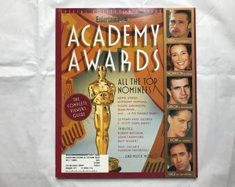 Two Entertainment Weekly Magazine Academy Awards Special Issues: March 1996 and March 1995