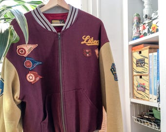 Vintage Liberto varsity jacket