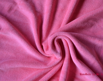 100% COTTON PINK TERRY CLOTH
