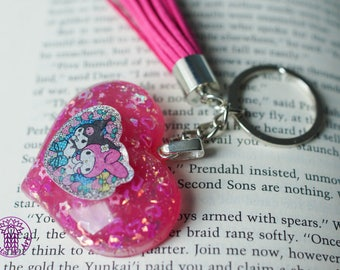 Hot Pink My Sweet Melody keychain