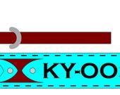 Dog Collar, Custom for Ky-Oosh