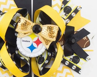 Pittsburgh Steelers hairbow