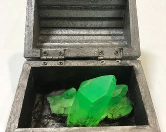 Small Lead box  of Kryptonite