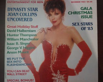 Playboy December 1983 vintage magazine collectible