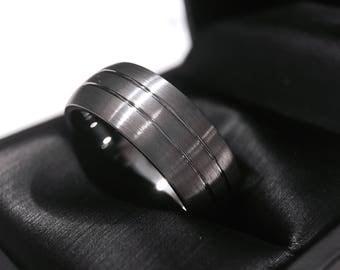 Tungsten Wedding Band, Engagement Ring, Tungsten Carbide Band, Promise Ring, Men's Band Tungsten, Tungsten Ring, Mens Promise Ring Engraved