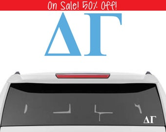 50% OFF!  Delta Gamma Decal | DG Decal | Sorority Car Decals, Sorority Vinyl Decal, Sorority Laptop Decal, Sorority Decal