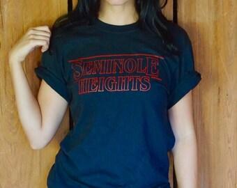 Seminole Heights Stranger Things T Shirt