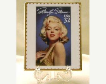 Summer Sale Marilyn Monroe US Postage Commemorative Plaque - NIB - Unique