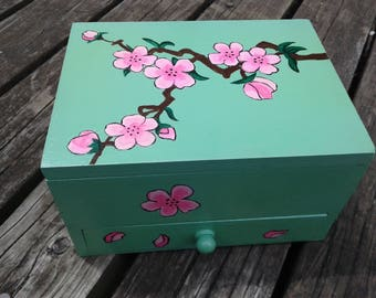 Cherry Blossom Chest