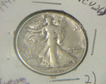 1941 P Walking Liberty Half Silver Dollar (CV26)