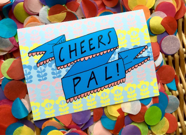 Cheers pal greetings card scottish humour slang thank you zoom kristyandbryce Gallery