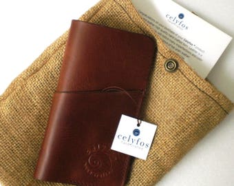 iPhone 7 /iPhone 7 plus handmade Italian leather case sleeve wallet card holder