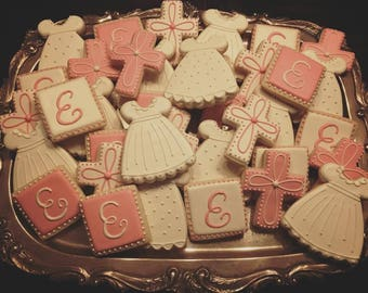 Baptism Cookies - ONE Dozen
