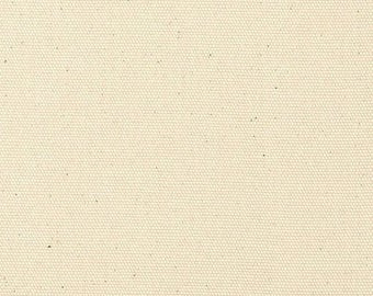 """SALE James Thompson Duck Canvas Cloth in Natural 7 oz - listing for 1 Yard (57-58"""" wide) - DP"""