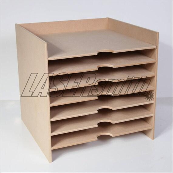 12 x 12 inch paper storage unit for craft etc fits ikea. Black Bedroom Furniture Sets. Home Design Ideas